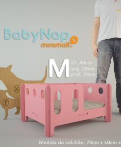 Babynap-M-tamanho